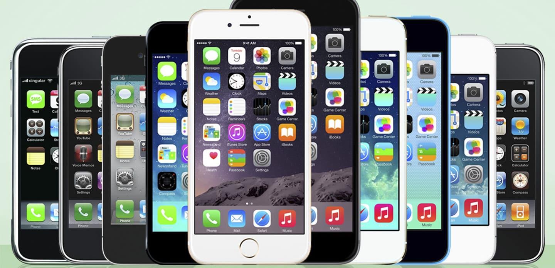 Los 5 Mejores Iphones de la Historia