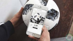 El balón que demuestra la tecnologia del mundial Rusia 2018