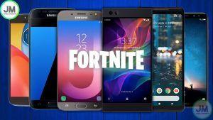 Los 6 mejores celulares android para jugar Fortnite