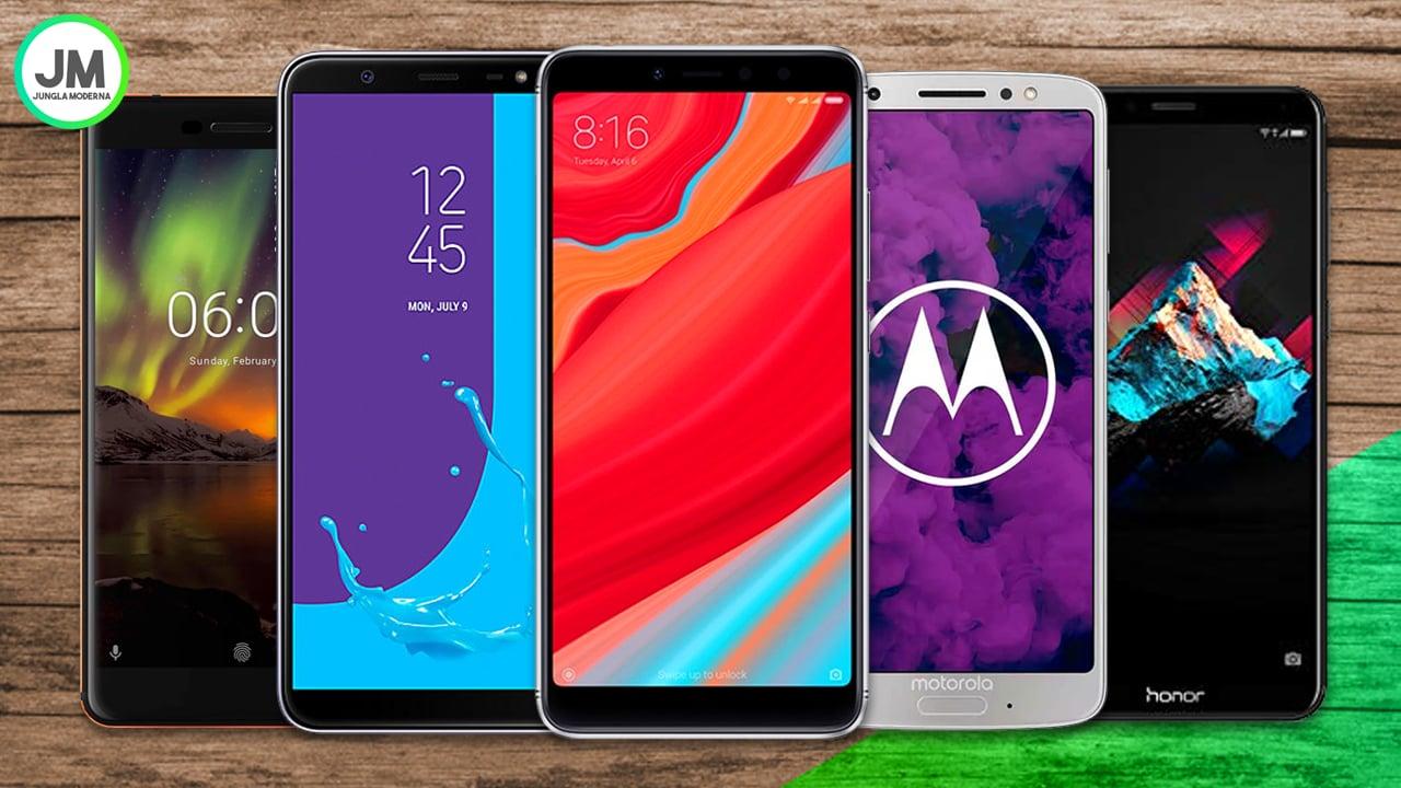Los 5 Mejores Móviles de Gama Media en 2018