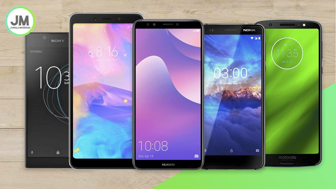 Los mejores celulares de gama baja en 2018