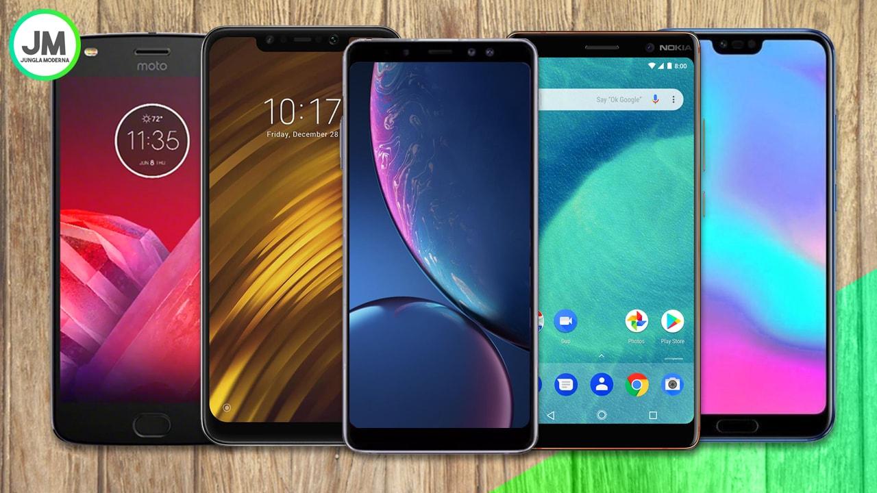 Mejores Móviles Gama Media-Alta del 2018
