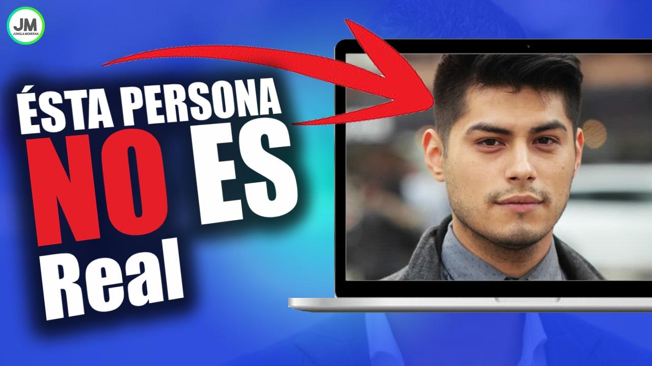 Web que puede crear rostros de Personas Falsas