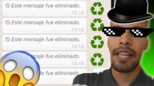 Recuperar los Mensajes Borrados de Whatsapp