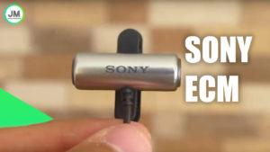 Análisis del Micrófono Sony ECM CS3