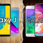 Galaxy J vs Galaxy A ¿Cuál es mejor línea?