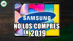 Los 3 Peores Celulares Samsung en 2019