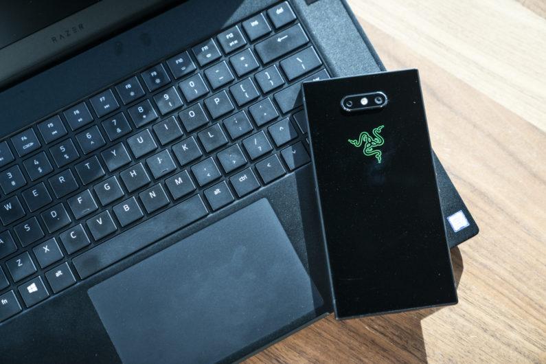 razer phone 2 teclado