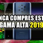 Los peores celulares gama alta del 2019
