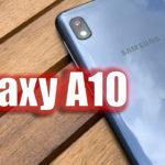 Ventajas y Desventajas del Samsung Galaxy A10