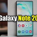 Características del Samsung Galaxy Note 20