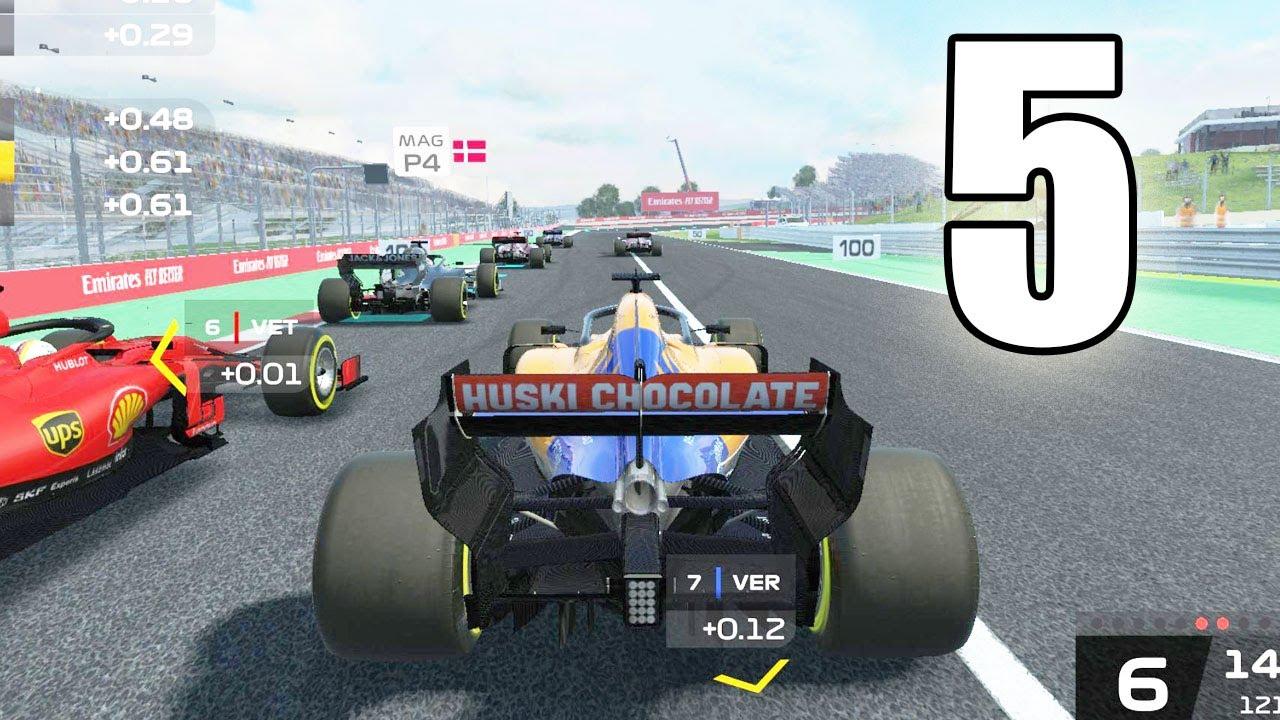 Mejores Juegos de Formula 1 en Android