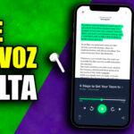 Aplicacion que te Lee Textos en Voz Alta